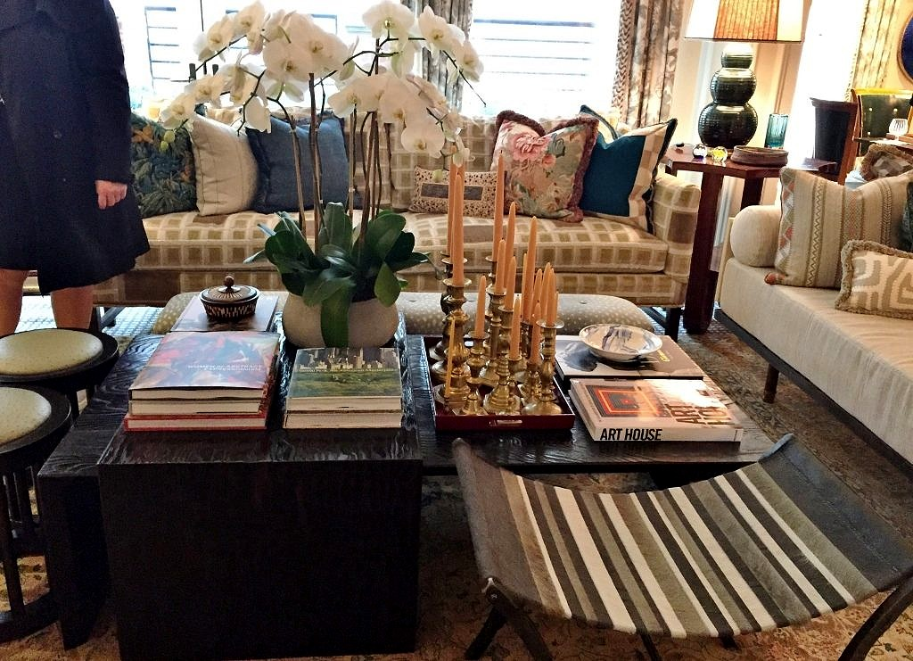 Coffee Table in Philip Mitchell's Kips Bay Showhouse Drawing Room